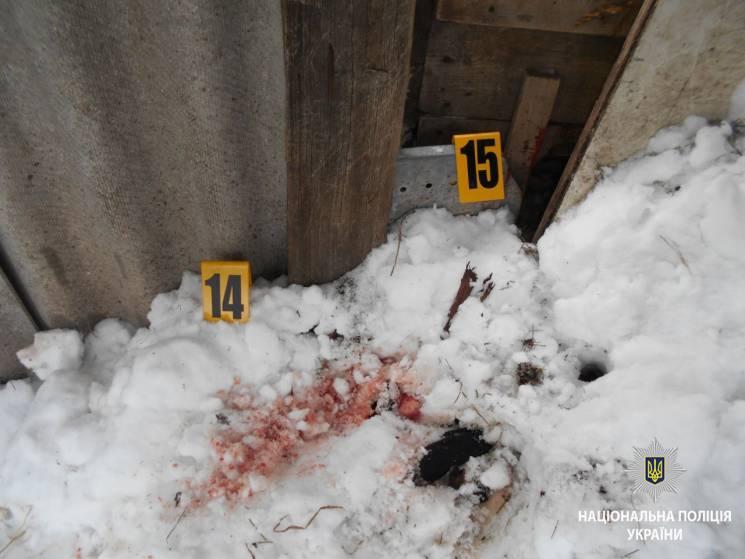 ВХарьковской области сын безжалостно убил мать
