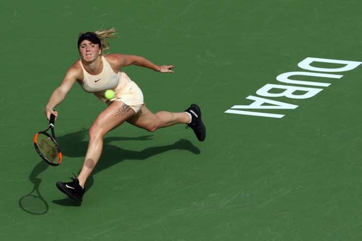 Українка Світоліна вийшла до півфіналу турніру в Дубаї