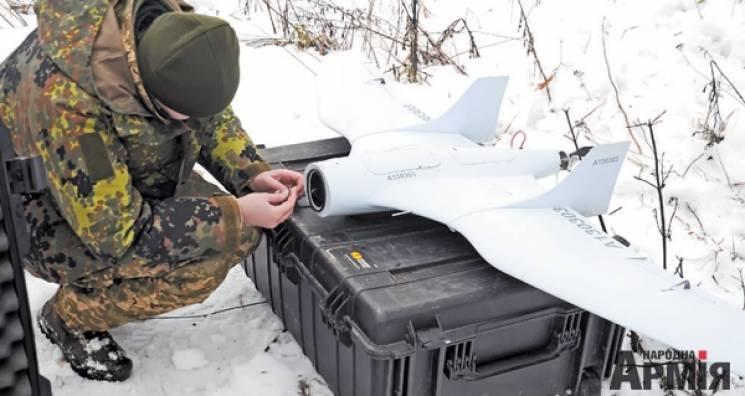 Армійці в районі АТО використовують з десяток різноманітних безпілотників