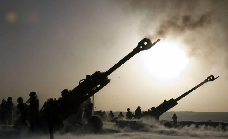 """Бойовики розривають """"тишу"""" важкою артилерією"""