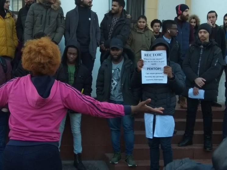 У Кропивницькому знову протестують студе…