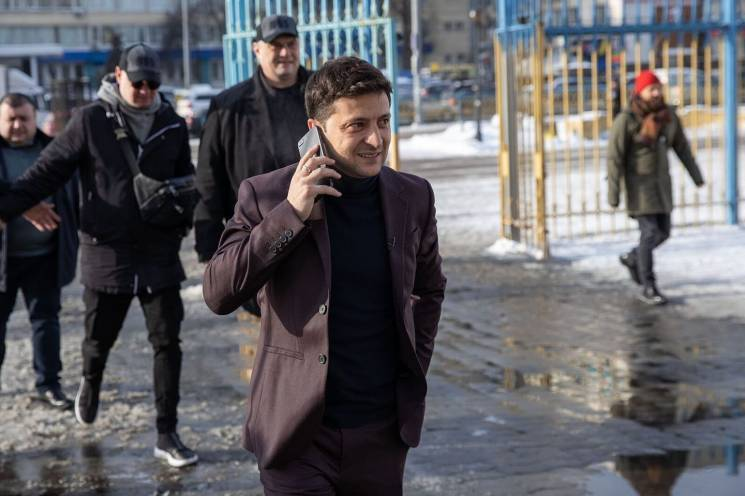 Штаб Зеленского запретил комику выступат…