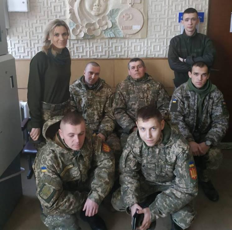 Тернопільські військові стали донорами