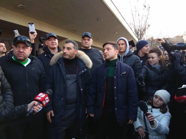 Перед концертом Зеленського у Львові ледь не сталася бійка (ФОТО)