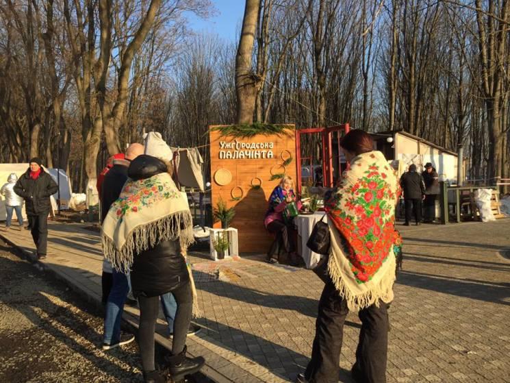 Ужгородська палачінта: Як закарпатці нетрадиційно прощаються з зимою (ФОТО)