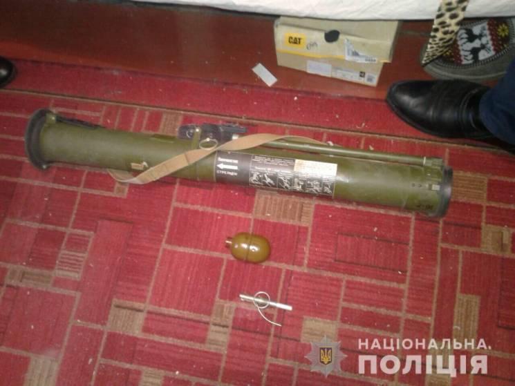 Гранатомет і 30 кг наркотиків: На Харківщині схопили озброєного до зубів растамана (ФОТО)