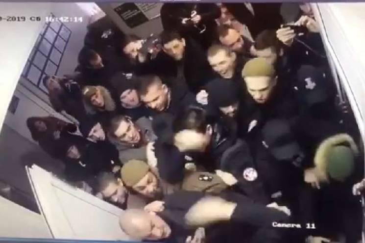 Держбюро розслідувань взялося за бійку активістів з поліцією