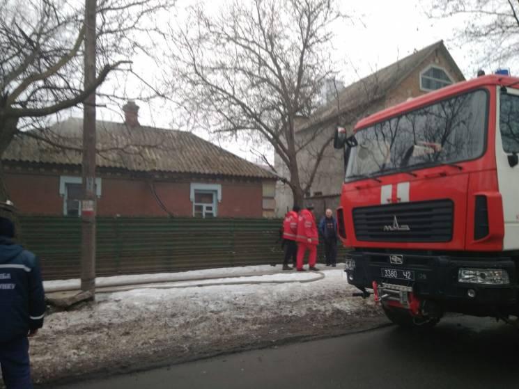 У Кропивницькому на пожежі загинула жінка (ФОТО)