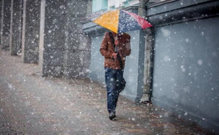 Крихке лютневе потепління в Києві посуне дощ з мокрим снігом і вітром