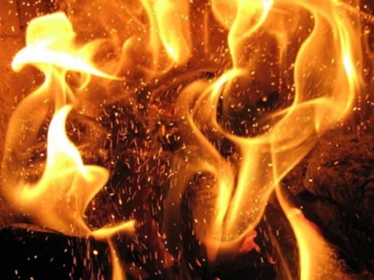 У Вінниці сталася пожежа на будівництві