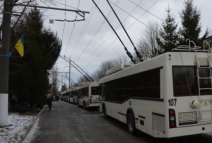 У Кропивницькому два тролейбуси тимчасово курсуватимуть в об'їзд Ковалівки