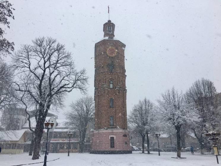 Вінничанам обіцяють у вівторок дощ зі снігом