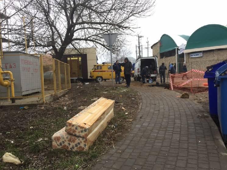В Одесі на вулиці вибухнув газ (ФОТО)