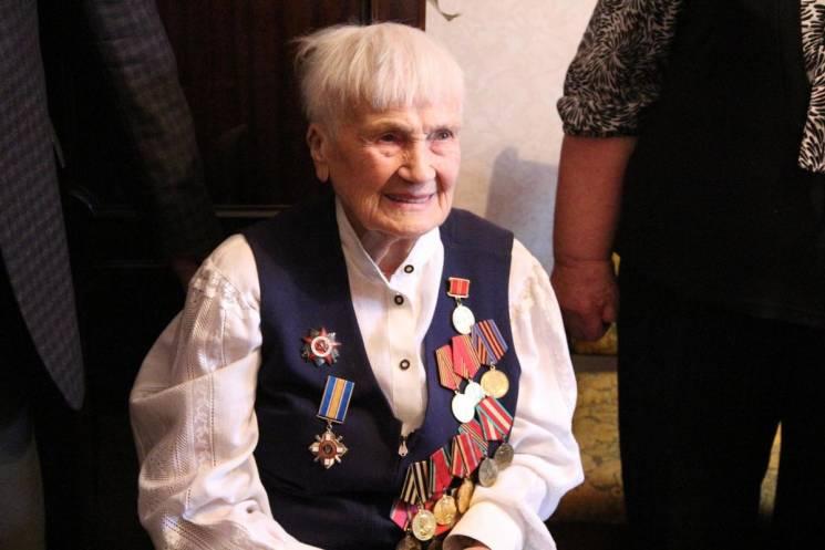 Запорізька довгожителька відсвяткувала 100-й день народження (ФОТО)