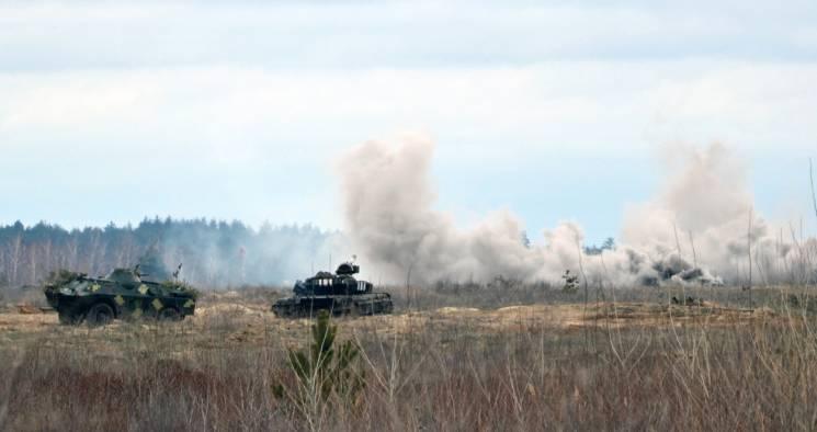 """Поряд із Дніпром бійці батальйону """"Айдар"""" відпрацьовували наступальні дії (ФОТО)"""