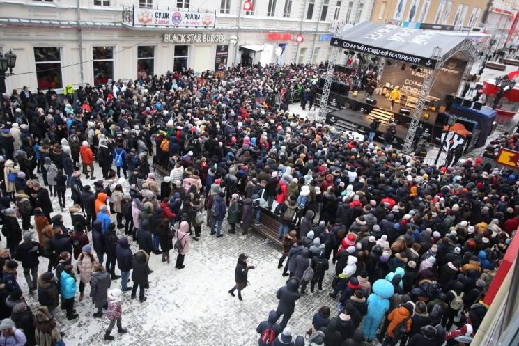 В Росії мало не побилися через халявні бургери (фото)