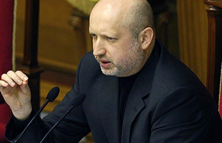 Турчинов предложил лишить «Интер» лицензии из-за российских звезд