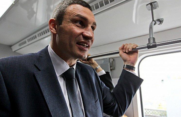 Кличко рассказал, что будет с метро на Троещину и убитыми столичными дорогами