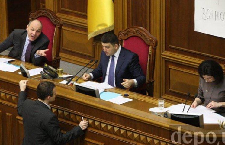 Гройсман відкрив засідання Ради: депутати розглянуть указ про мобілізацію