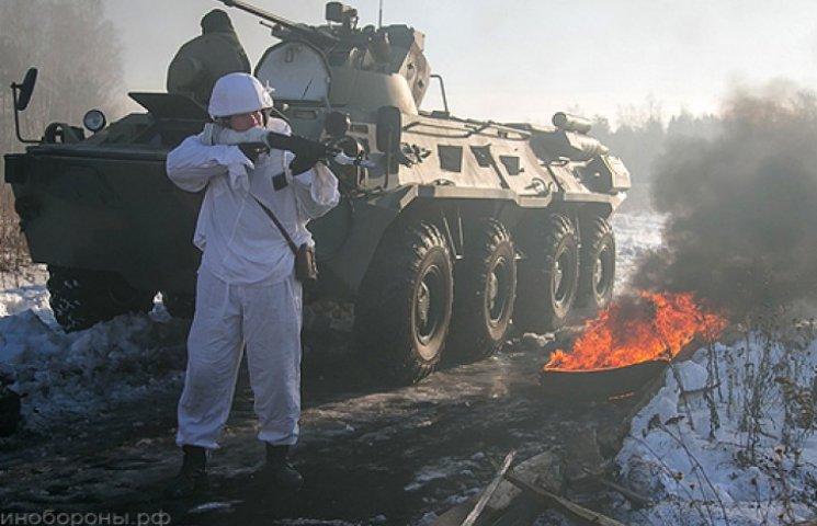 В Україні вже 9 тис. російських військових - Порошенко