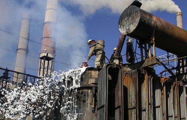Полностью обесточена подконтрольная Украине территория Луганщины