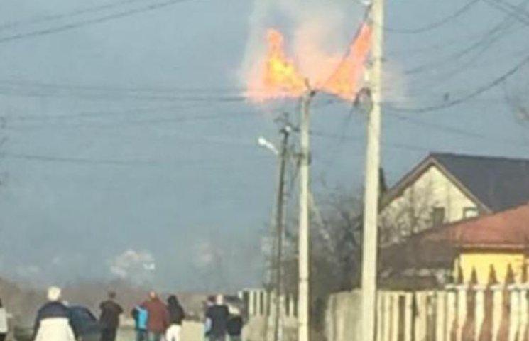 Закарпатські рятувальники прокоментували вибух на газотранспортній магістралі