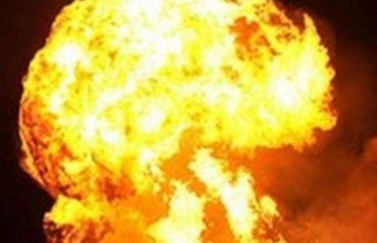 Появилось видео взрыва на газопроводе в Закарпатье