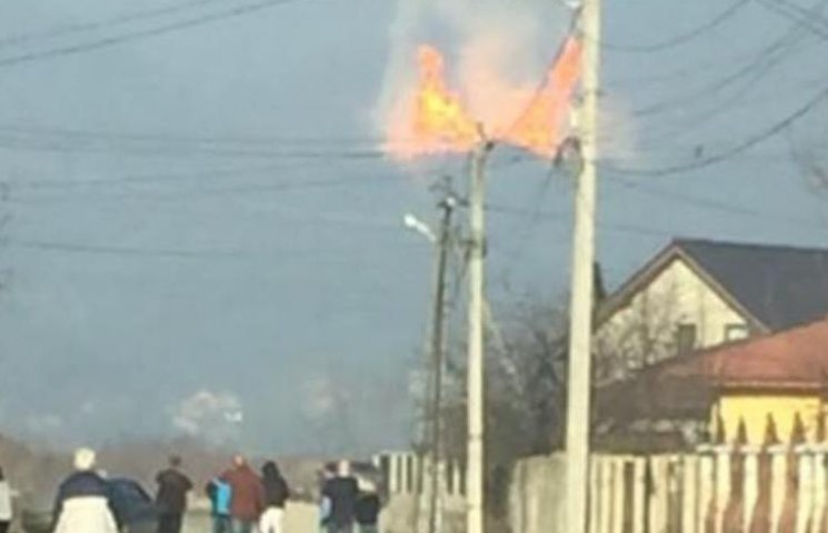 Газопровід на Закарпатті вибухнув через просідання грунту