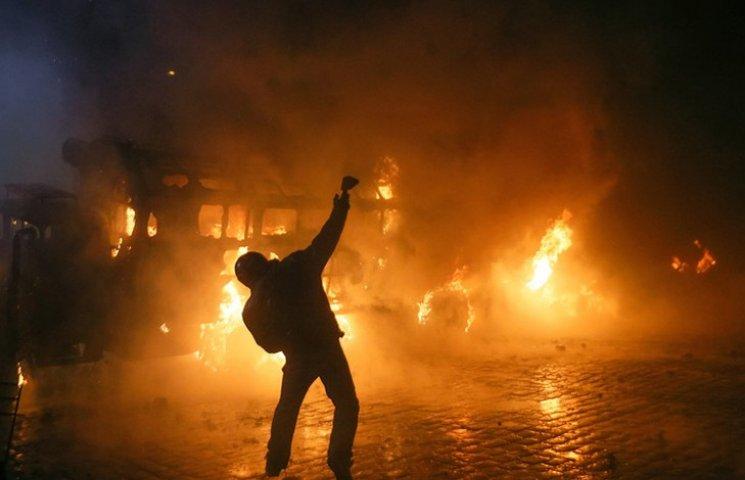 Хроника Революции Достоинства: Огонь на Грушевского и новая стадия противостояния