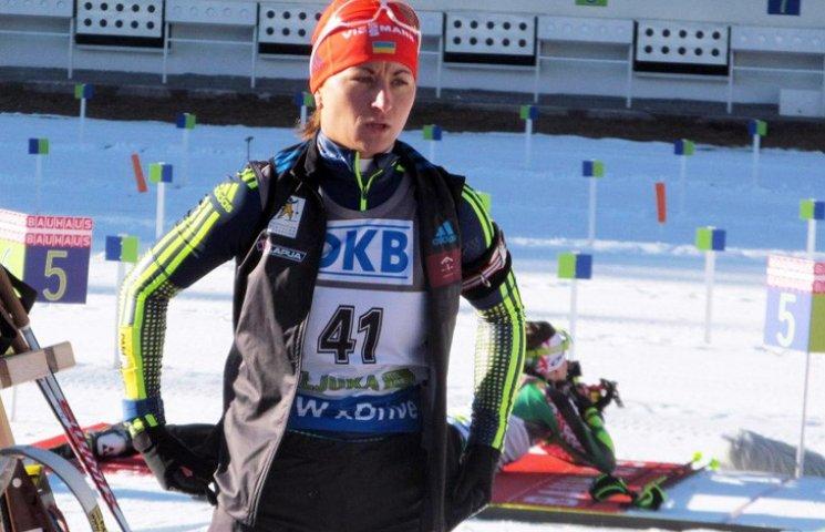 Сумчанка Валя Семеренко виборола золото на Кубку Словенії з біатлону