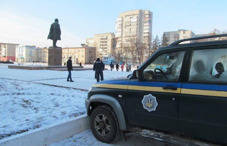 У Шостці замінували пам'ятник Леніну