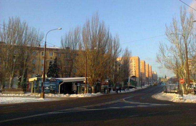 Донецьк в годину пік: звільнений від людей і машин (ФОТО)