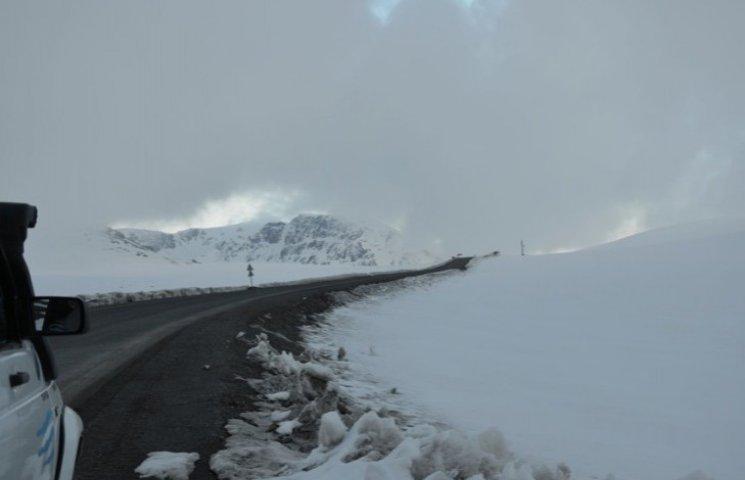 Проїзд на гірських перевалах Закарпаття забезпечений