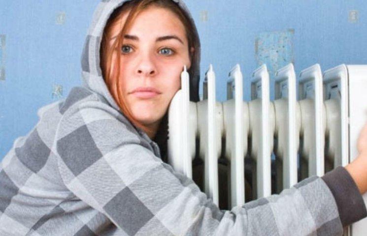 Кияни мерзнуть в холодних квартирах: батареї ледь-ледь теплі