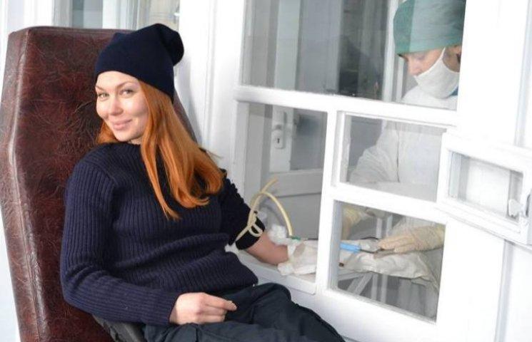 В Ужгороді поліцейські стали донорами крові