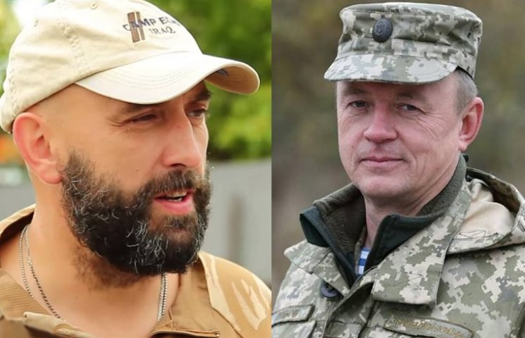 Сергій Кривонос (ліворуч) та Ігор Луньов