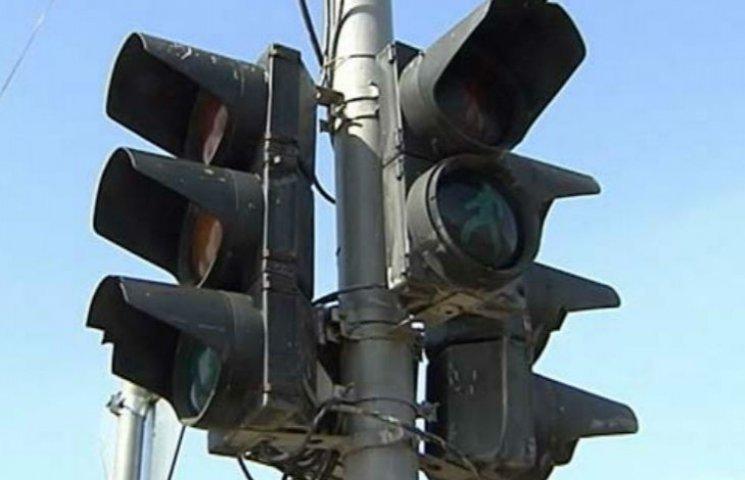Через морози у Києві не працюють світлофори