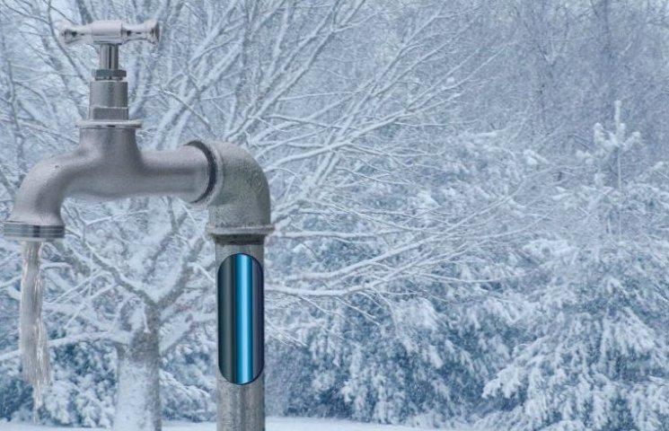 У Києві замерзли бювети