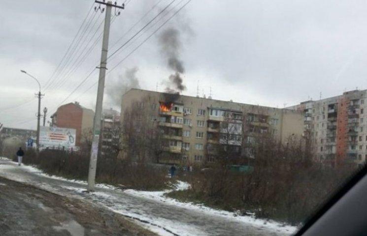 В Ужгороді на Різдво згоріла квартира, врятовано п
