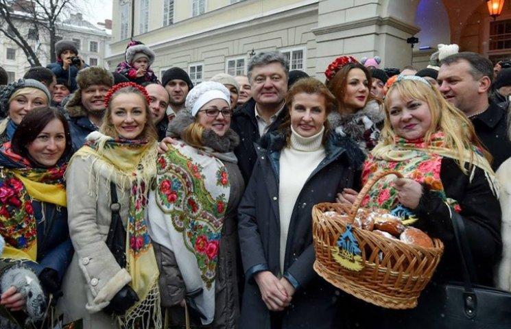 Как украинские политики встретили Рождество