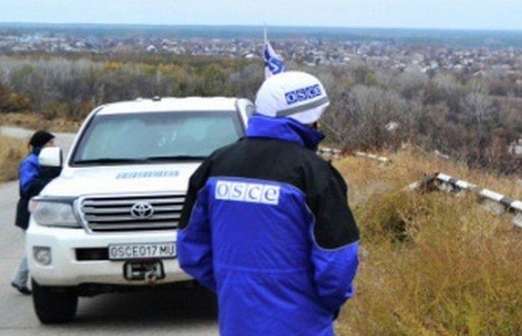 У Горлівці бойовики поклали на землю спостерігачів ОБСЄ