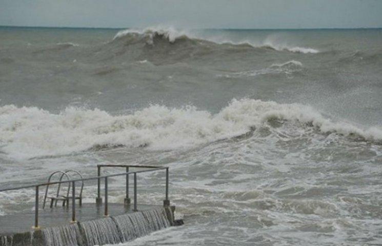 Непогода отрезала Крым от России