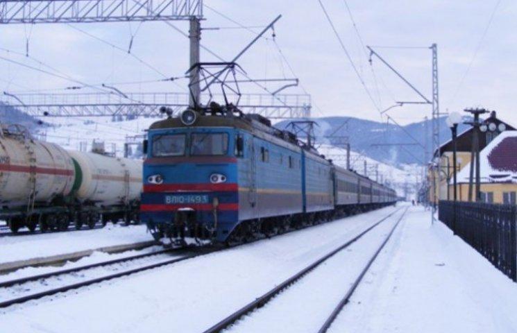 Потяг Харків-Мукачево їздитиме за новим розкладом