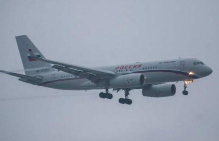 У Борисполі приземлився путінський літак