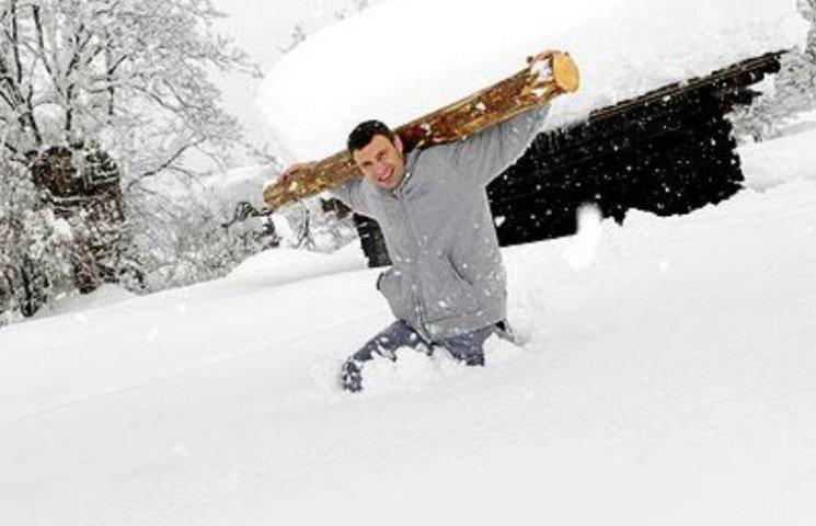 Як Кличко самоусунувся від прибирання снігу з вулиць Києва
