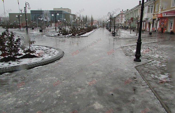 Бердянські комунальники проігнорували прихід зими