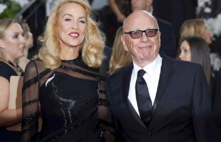 84-річний Руперт Мердок оголосив про заручини з колишньою Міка Джаггера