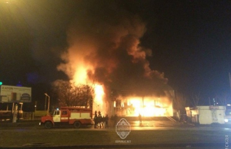 В Одесі згорів фітнес-клуб, де безкоштовно тренувались поліцейські та атошники