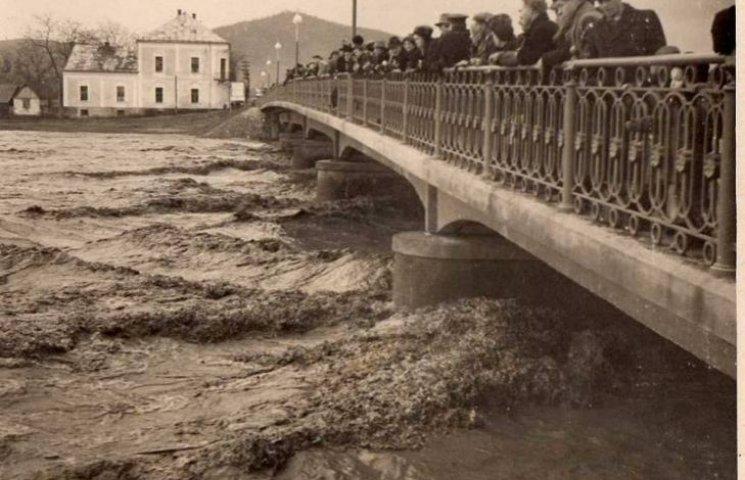 Як у Мукачеві повінь лякала містян понад півстоліття тому