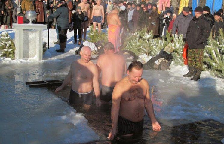 """Шосткинцям """"призначили"""" офіційне місце для купання на Водохрещу"""